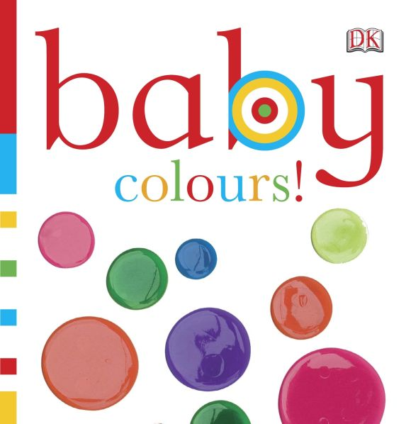 eBook cover of Baby Colours!