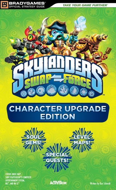 eBook cover of Skylanders SWAP Force Character Upgrade Edition