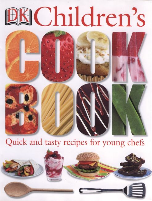 Hardback cover of DK Children's Cookbook