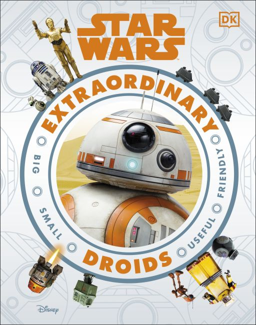 Hardback cover of Star Wars Extraordinary Droids