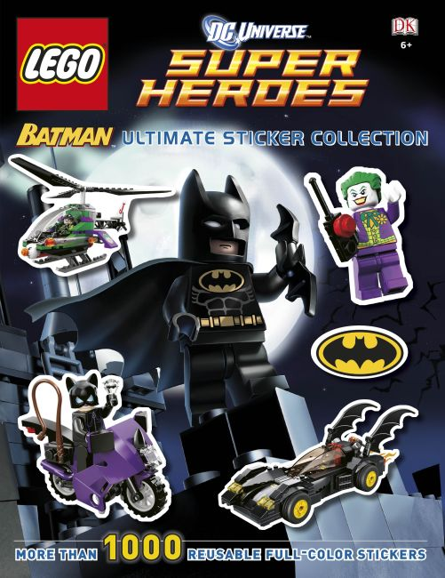 Paperback cover of Ultimate Sticker Collection: LEGO® Batman (LEGO® DC Universe Super Heroes)