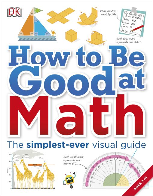 Paperback cover of How to Be Good at Math