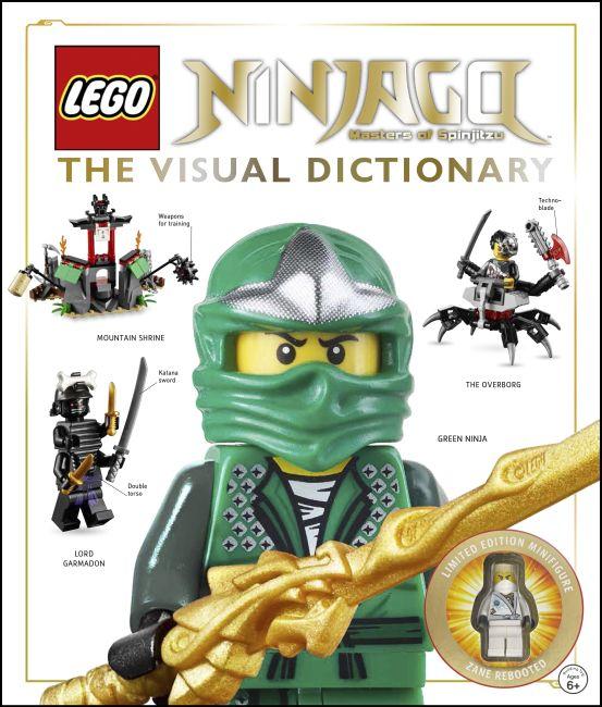 Hardback cover of LEGO® NINJAGO: The Visual Dictionary