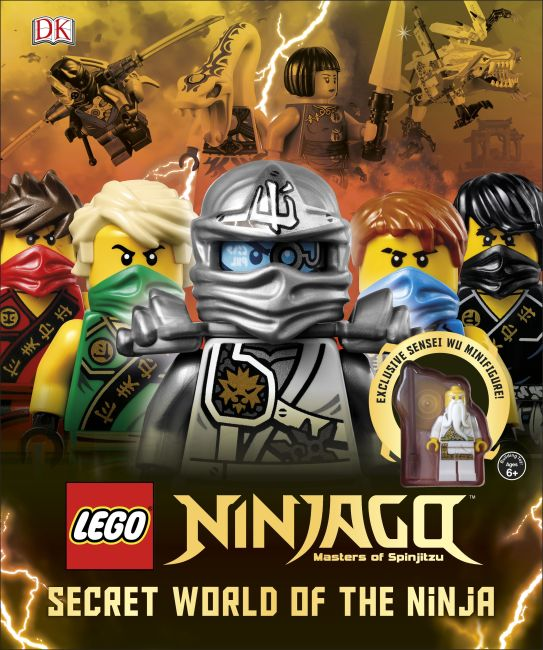 Hardback cover of LEGO® Ninjago Secret World of the Ninja
