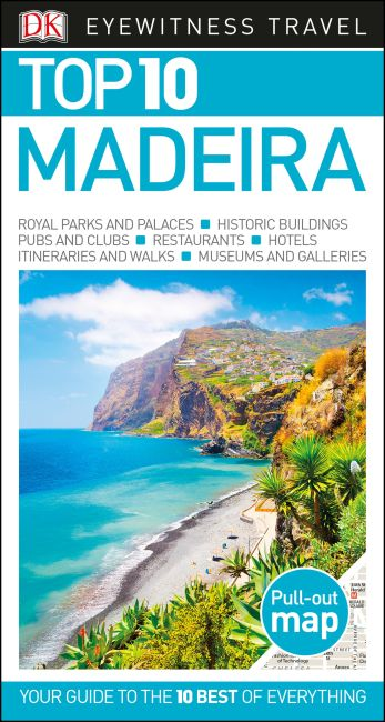 Paperback cover of Top 10 Madeira