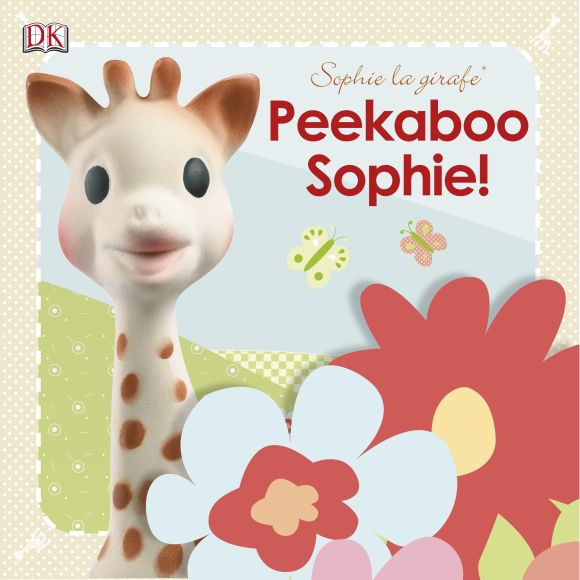 Board book cover of Sophie la girafe Peekaboo Sophie!