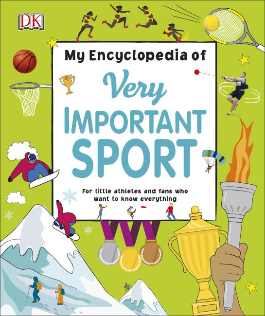 Hardback cover of My Encyclopedia of Very Important Sport