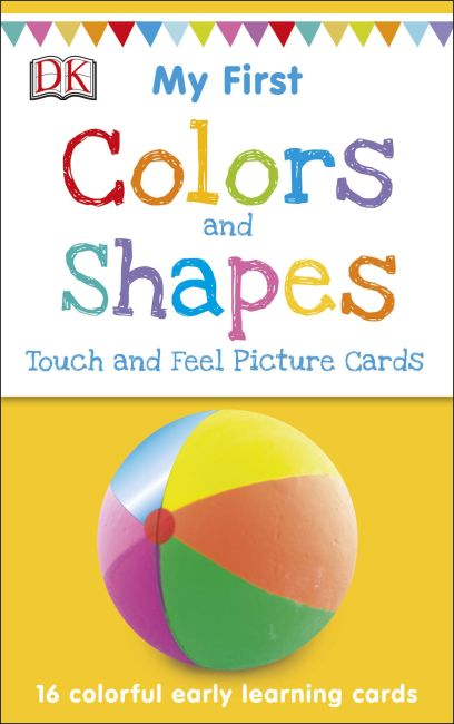 Cards cover of My First Touch and Feel Picture Cards: Colors and Shapes