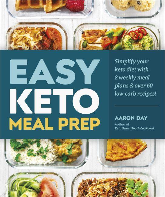 Paperback cover of Easy Keto Meal Prep
