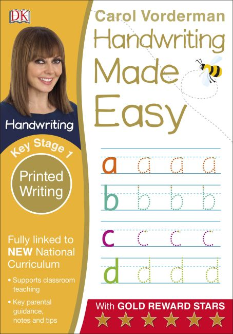 Paperback cover of Handwriting Made Easy Ages 5-7 Key Stage 1 Printed Writing