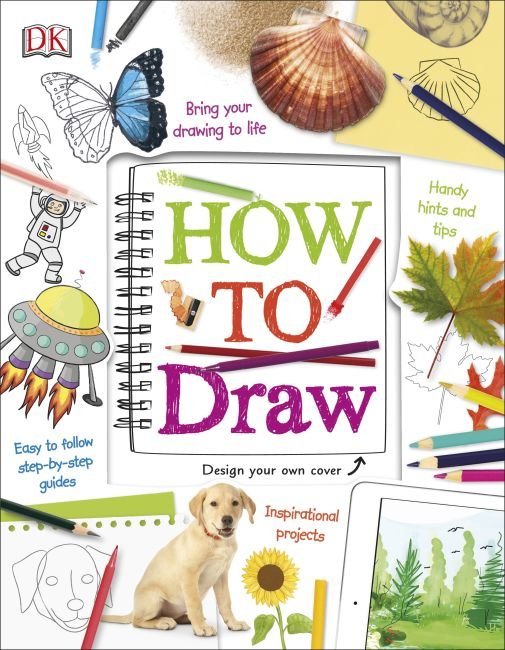 Spiral bound cover of How to Draw