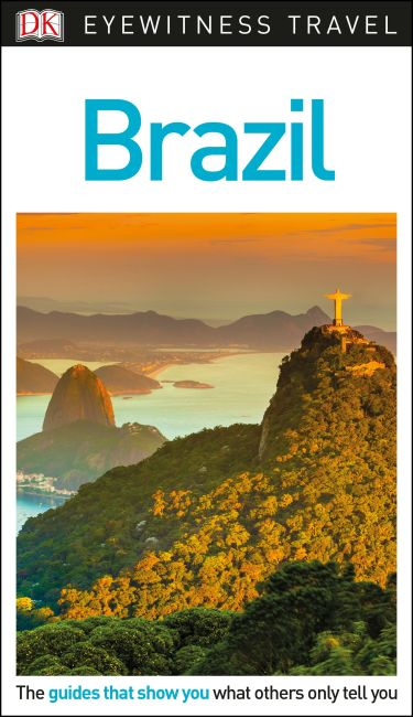 Flexibound cover of DK Eyewitness Brazil