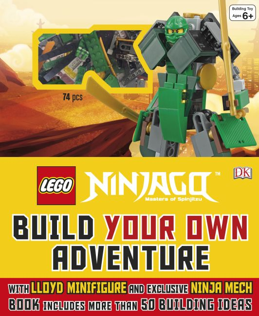 Hardback cover of LEGO® NINJAGO: Build Your Own Adventure
