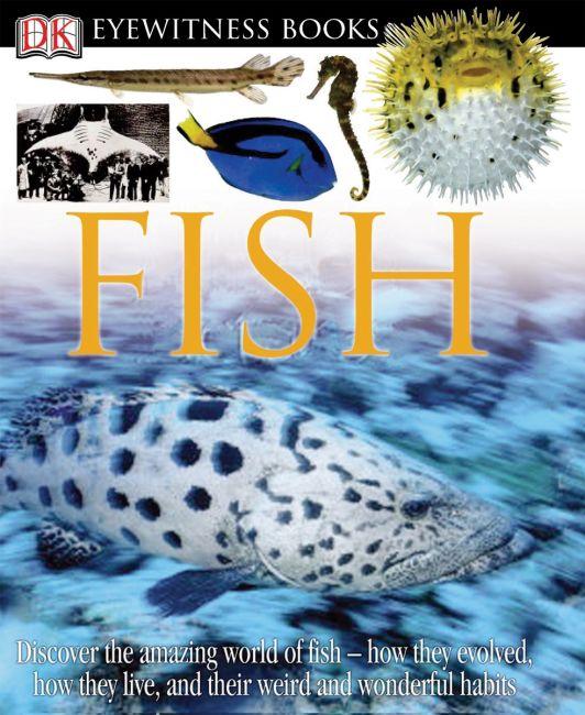 Hardback cover of DK Eyewitness Books: Fish