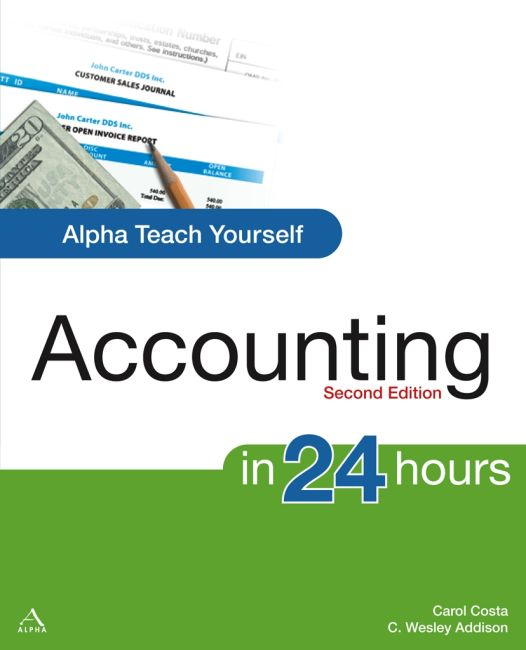 Paperback cover of Alpha Teach Yourself Accounting in 24 Hours, 2nd Edition