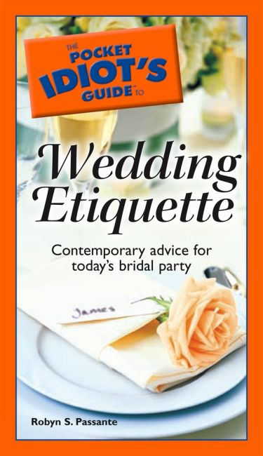 eBook cover of The Pocket Idiot's Guide to Wedding Etiquette