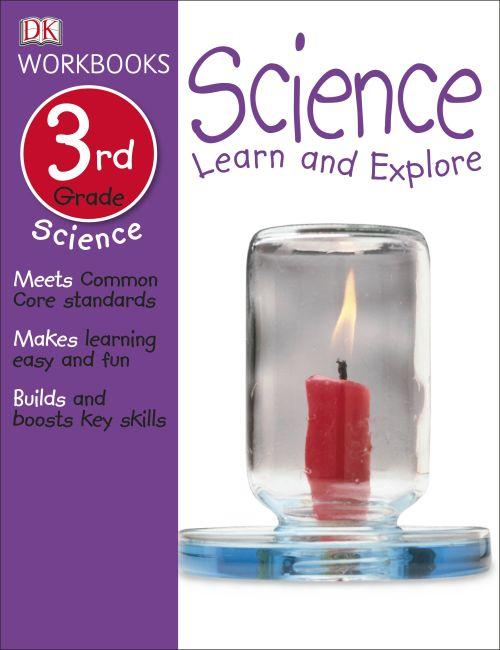 Paperback cover of DK Workbooks: Science, Third Grade
