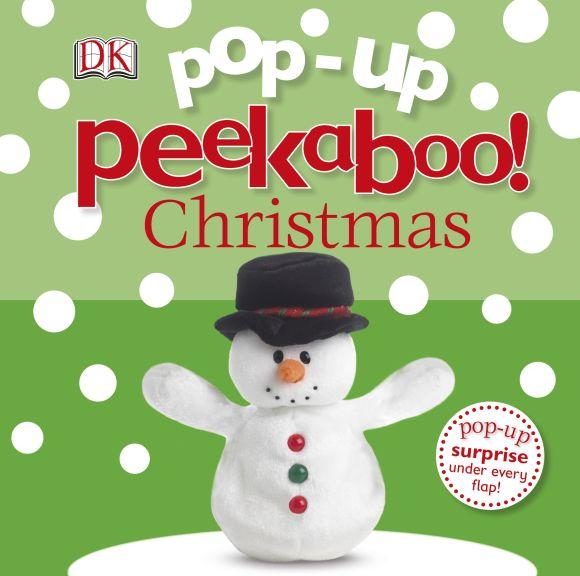Board book cover of Pop-Up Peekaboo! Christmas