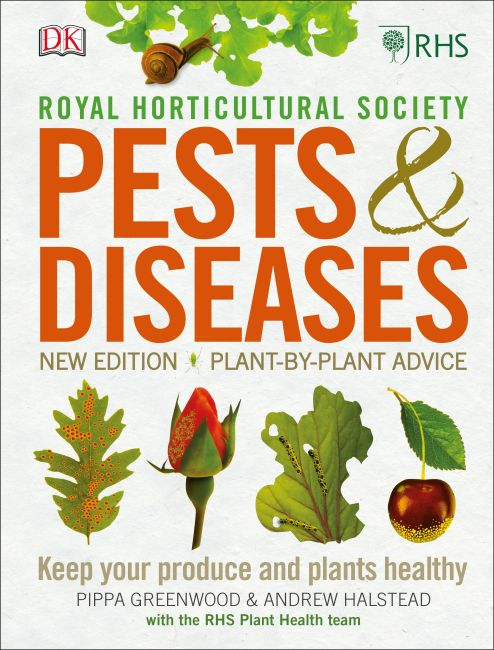 Hardback cover of RHS Pests & Diseases