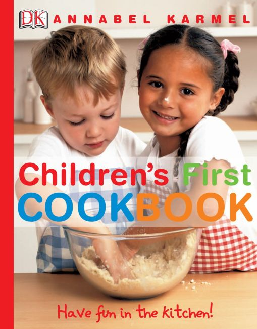 Hardback cover of Children's First Cookbook