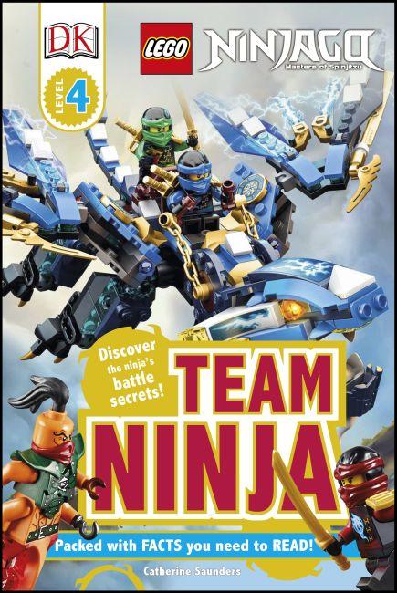 Hardback cover of LEGO® Ninjago Team Ninja