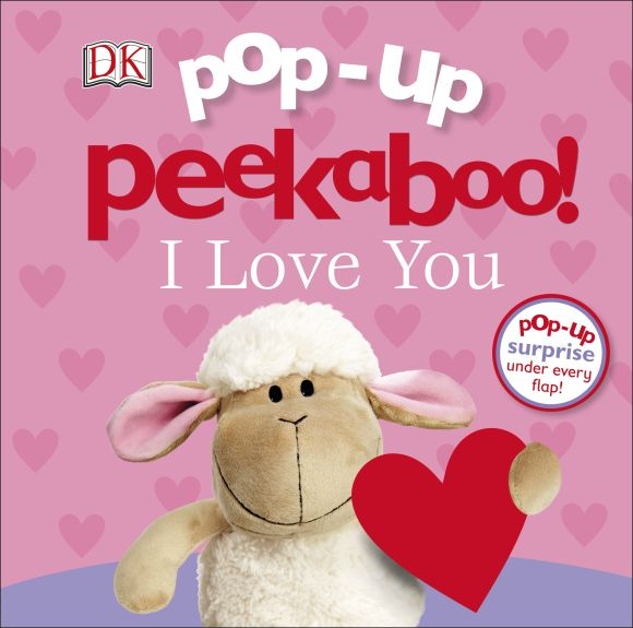 Board book cover of Pop-Up Peekaboo! I Love You