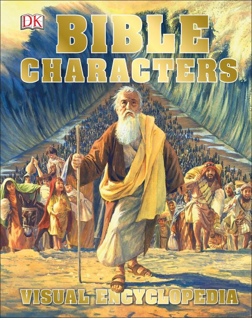 Hardback cover of Bible Characters Visual Encyclopedia