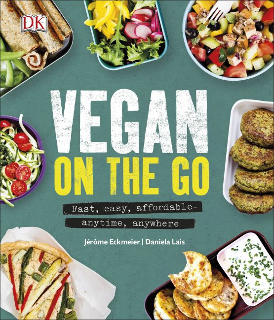 Hardback cover of Vegan on the Go