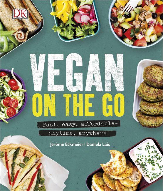 Hardback cover of Vegan on the Go