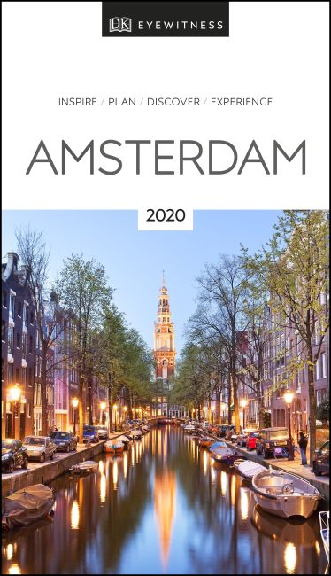Paperback cover of DK Eyewitness Travel Guide Amsterdam