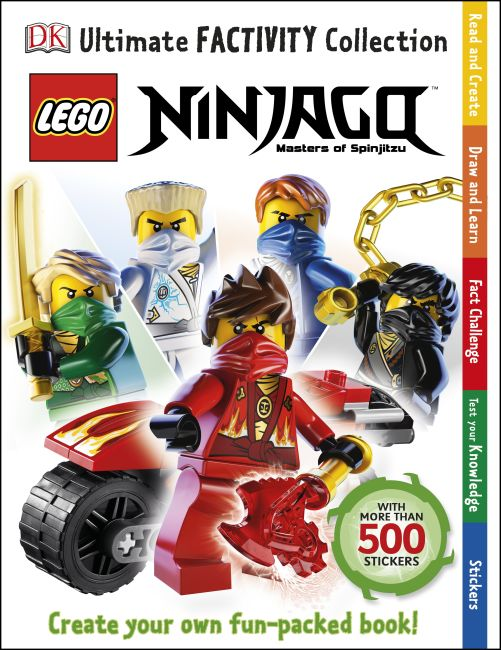 Paperback cover of Ultimate Factivity Collection: LEGO® NINJAGO