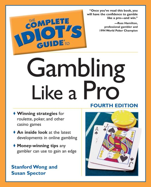 eBook cover of The Complete Idiot's Guide to Gambling Like a Pro