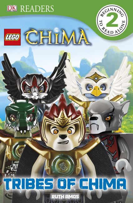 eBook cover of LEGO® Legends of Chima Tribes of Chima