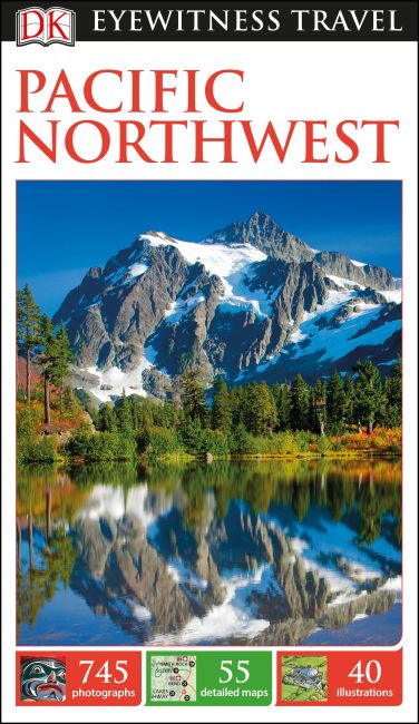 Flexibound cover of DK Eyewitness Travel Guide Pacific Northwest