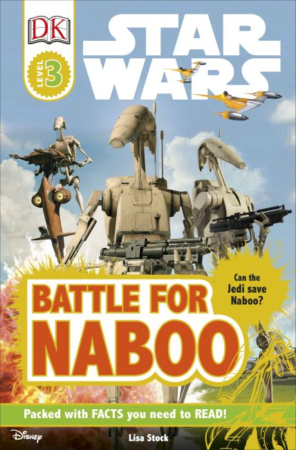 Paperback cover of DK Readers L3: Star Wars: Battle for Naboo