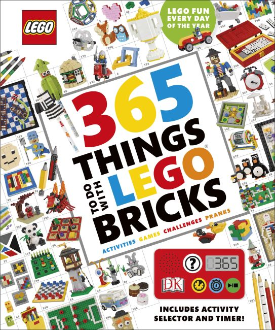 Hardback cover of 365 Things to Do with LEGO Bricks