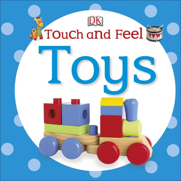 Board book cover of Touch and Feel Toys