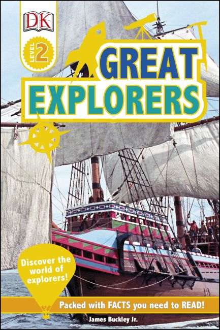 Hardback cover of DK Readers L2: Great Explorers