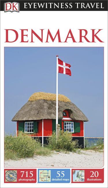 Paperback cover of DK Eyewitness Denmark Travel Guide