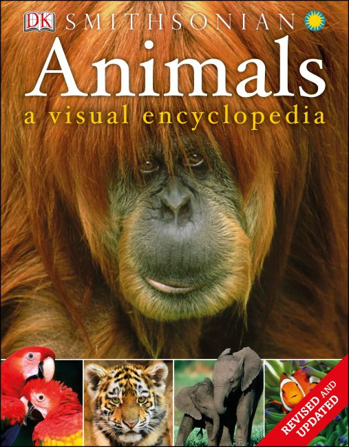 Paperback cover of Animals: A Visual Encyclopedia (Second Edition)