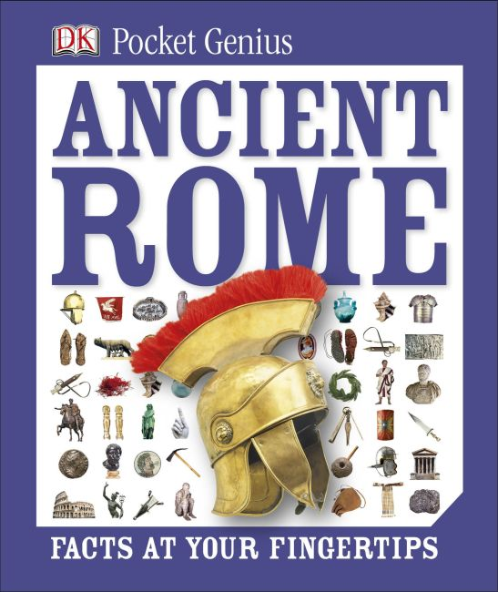 Hardback cover of Pocket Genius: Ancient Rome
