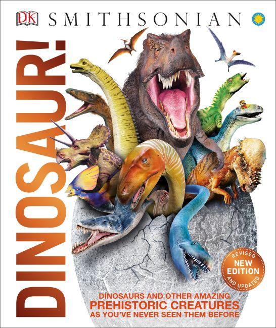 Hardback cover of Dinosaur!