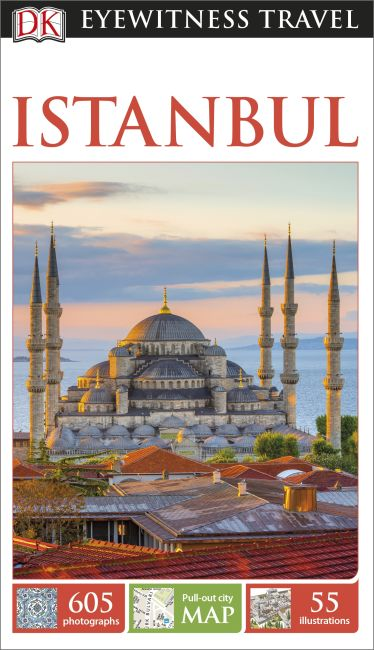 Flexibound cover of DK Eyewitness Travel Guide Istanbul