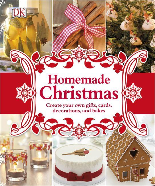 Hardback cover of Homemade Christmas