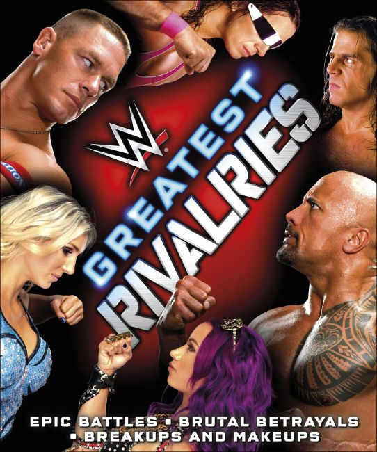 Hardback cover of WWE Greatest Rivalries