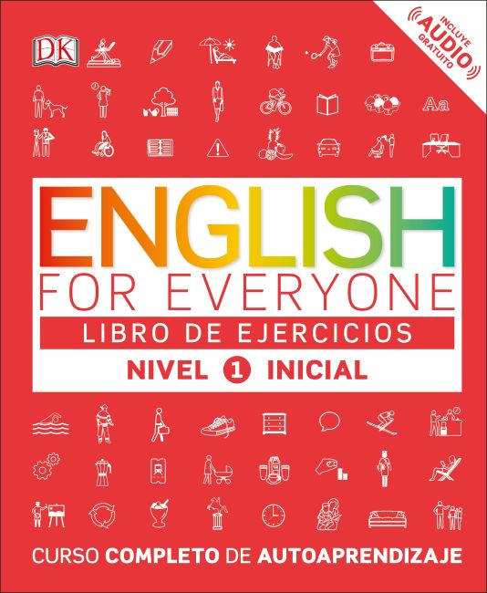 Flexibound cover of English for Everyone: Nivel 1: Inicial, Libro de Ejercicios