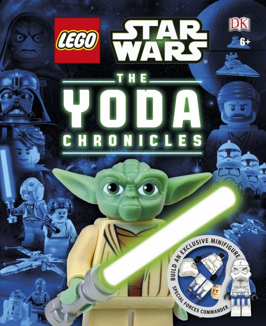 Hardback cover of LEGO® Star Wars The Yoda Chronicles