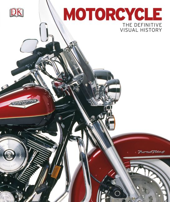 eBook cover of Motorcycle: The Definitive Visual History