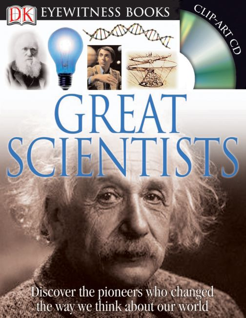 Hardback cover of DK Eyewitness Books: Great Scientists