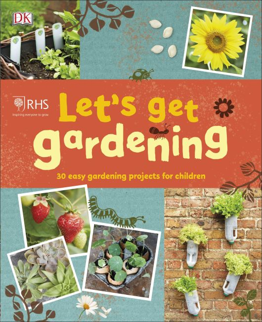Flexibound cover of RHS Let's Get Gardening